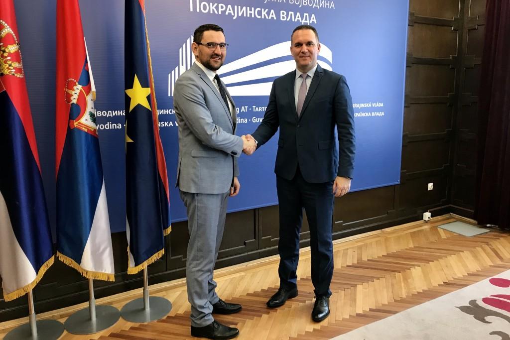 Састанак са министром Клокићем